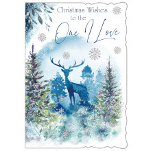 JXC0816 One I Love Male Trad 50 Christmas Cards