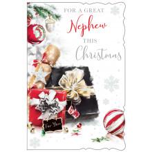 Nephew Trad 75 Christmas Cards