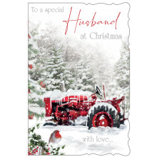 XD00413 Husband Trad 75 Christmas Cards