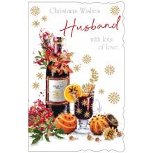 Husband Trad 125 Christmas Cards