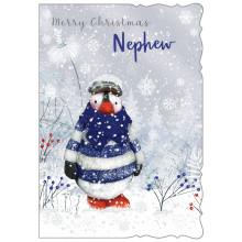 XD00214 Nephew Cute 50 Christmas Cards