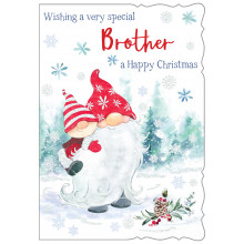Brother Cute 50 Christmas Cards