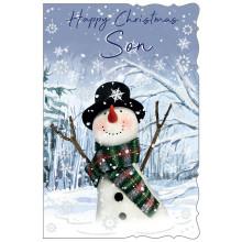 Son Cute 75 Christmas Cards