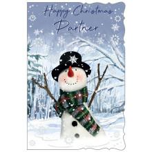 Partner Male Cute 75 Christmas Cards