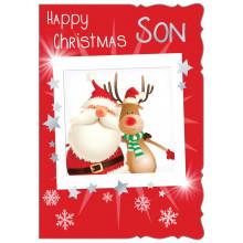 JXC0799 Son Juv 50 Christmas Cards