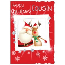 JXC0808 Cousin Male Juv 50 Christmas Cards