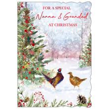 Nanna+Grandad Trad 50 Christmas Cards