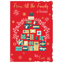 From All The Family Trad 50 Christmas Cards