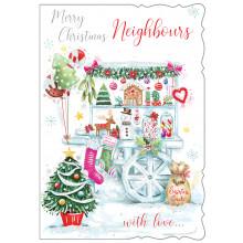 Neighbours Trad 50 Christmas Cards