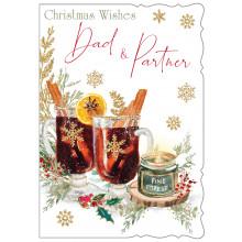 Dad+Partner Trad 50 Christmas Cards