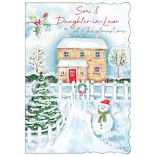 Son+Daughter-I-Law Trad 50 Christmas Cards