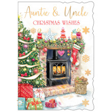 Auntie+Uncle Trad 50 Christmas Cards