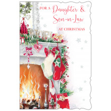 Daughter+Son-I-Law Trad 75 Christmas Cards