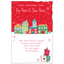 House To House Trad 75 Christmas Cards
