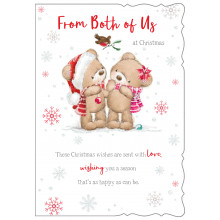 From Both Of Us Cute 50 Christmas Cards
