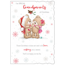 Grandparents Cute 50 Christmas Cards