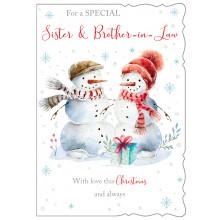 JXC0818 Sis+Bro Cute Christmas Cards