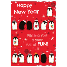 New Year Cute 50 Christmas Cards