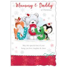 Mummy+Daddy 50 Christmas Cards