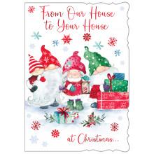 House to House Cute 50 Christmas Cards