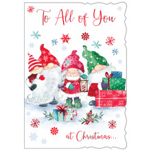 To All of You Cute 50 Christmas Cards