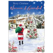 Nannie+Grandad Trad 50 Christmas Cards
