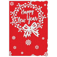 New Year Contempory 50 Christmas Cards