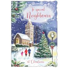 Neighbours Rel 50 Christmas Card