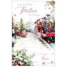 Partner Male Trad 75 Christmas Cards