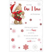 O.I.L Male Cte 75 Christmas Card