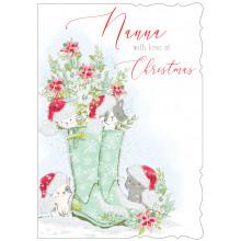 Nanna Cute 50 Christmas Cards