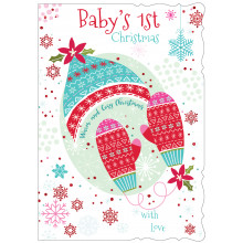 Baby's 1st Girl 50 Christmas Cards