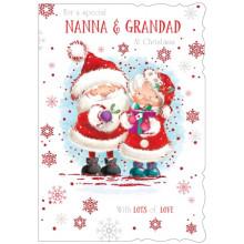 Nanna+Grandad Juv 50 Christmas Cards