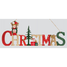 XD04204 Elf Sign Hanging Decoration