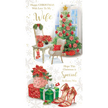 Wife Trad 72 Christmas Cards