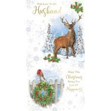 Husband Trad 72 Christmas Cards