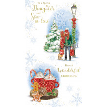 Daughter+Son-I-Law Trad 72 Christmas Cards