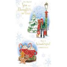 Son+Daughter-I-Law Trad 72 Christmas Cards