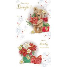 Daughter Cute 72 Christmas Cards
