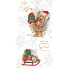 Husband Cute 72 Christmas Cards