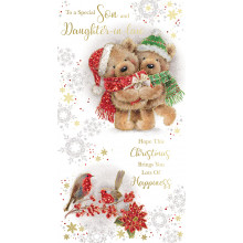 Son+Daughter-I-Law Cute 72 Christmas Cards
