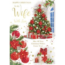 Wife Trad 50 Christmas Cards