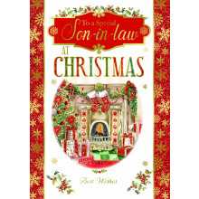 Son-In-Law Trad 50 Christmas Cards