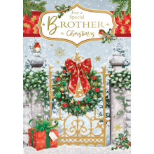 Brother Trad 50 Christmas Cards
