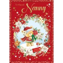 Nanny Cute 50 Xmas Card