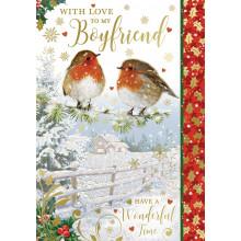 Boyfriend Trad 50 Christmas Cards