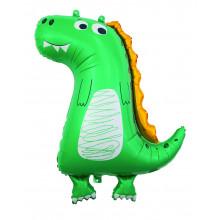 "26x33"" Dinosaur Jumbo Shaped Foil"